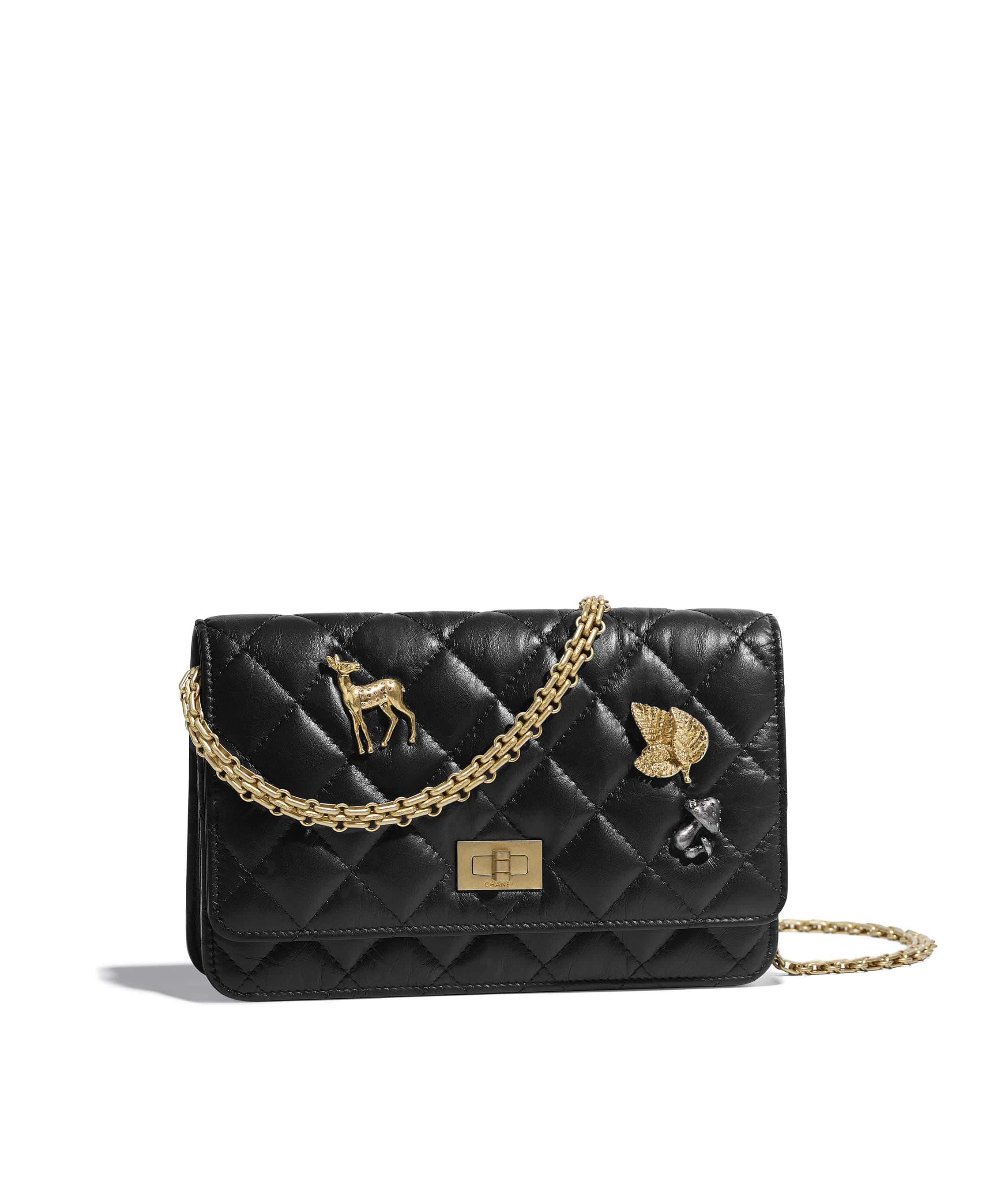 Chanel 2.55 Wallet On Chain